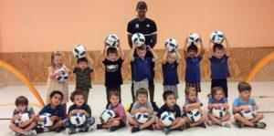 Cypresswood Montessori soccer program